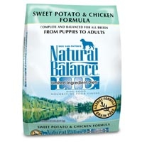 Natural Balance Limited Ingredient Diet Chicken & Sweet Potato Dry Dog Food 15 lb.