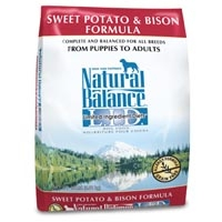 Natural Balance Sweet Potato & Bison Limited Ingredient Diets Dry Dog Food 13 lb.