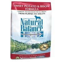 Natural Balance Sweet Potato & Bison Limited Ingredient Diets Dry Dog Food 26 lb.