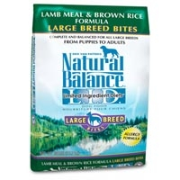 Natural Balance Limited Ingredient Diets Lamb & Brown Rice Large Breed Bites Dry Dog Food 28 lb.