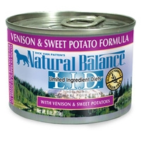 Natural Balance Limited Ingredient Diets Venison & Sweet Potato Canned Dog Food
