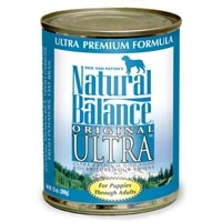 Natural Balance Ultra Can Dog Formula 12/13 oz.