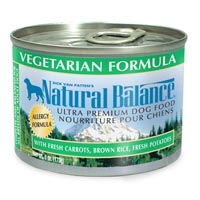Natural Balance Vegetarian Can Dog 12/6 oz.