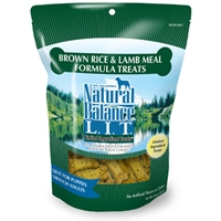 Natural Balance LIT Brown Rice & Lamb Meal Treats 12/14 oz.
