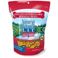 Natural Balance LIT Sweet Potato & Bison Meal Treats 8 oz.
