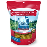 Natural Balance LIT Sweet Potato & Bison Meal Treats 14 oz.