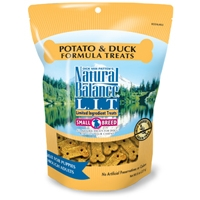 Natural Balance Limited Ingredient Diets Duck & Potato Small Breed Treats 12/8 oz.