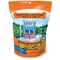 Natural Balance Limited Ingredient Diets Fish & Sweet Potato Small Breed Treats 12/8 oz.