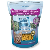 Natural Balance Limited Ingredient Diets Venison & Sweet Potato Small Breed Treats 8 oz.
