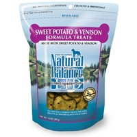 Natural Balance Limited Ingredient Diets Venison & Sweet Potato Treats 12/14 oz.