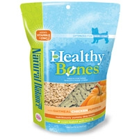 Natural Balance Healthy Bones Oatmeal, Chicken, Pumpkin Treats 12/8 oz. Case