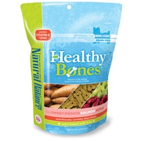 Natural Balance Healthy Bones Sweet Potato, Salmon, Apple Treats 12/8 oz. Case