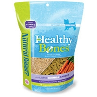 Natural Balance Healthy Bones Lamb, Quinoa, Carrots Treats 12/8 oz. Case