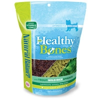 Natural Balance Healthy Bones Trout, Wild Rice, Spinach Treats 12/8 oz. Case
