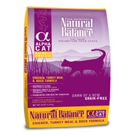 Natural Balance Alpha Cat Chicken/Turkey/Duck 10#