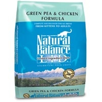 Natural Balance Limited Ingredient Diets Green Pea & Chicken Dry Cat Food