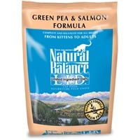 Natural Balance Limited Ingredient Diets Green Pea & Salmon Dry Cat Food 6/5 lb.