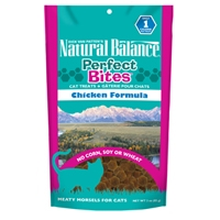NATURAL BALANCE Perfect Bites Chicken Formula Cat Treats, 12/3oz