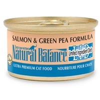 Natural Balance Limited Ingredient Diets Salmon & Green Pea Canned Cat Food