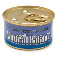 Natural Balance Limited Ingredient Diets Venison & Green Pea Canned Cat Food 24/3 oz.