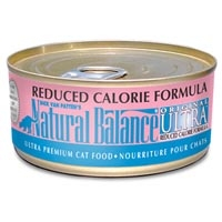 Natural Balance Reduced Calorie Can Cat 6 oz.