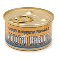 Natural Balance Turkey & Giblets Can Cat 3 oz.