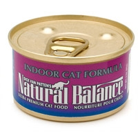 Natural Balance Indoor Formula Can Cat 24/3 oz.
