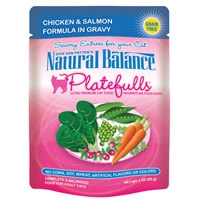 Natural Balance Platefulls Chicken & Salmon Formula in Gravy 3 Oz