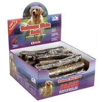 Snack 21 Salmon Skin Rolls for Dogs