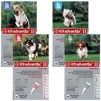 Advantix II Green Small Dog 6 Month Supply, 1-10 Lbs