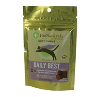 Pet Naturals of Vermont Softchews Daily Best for Cats 1.98 oz