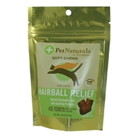 Pet Naturals of Vermont Softchews Hairball Relief for Cats 2.38 oz