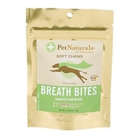 Pet Naturals of Vermont Soft Chews Breath Bites For Dogs 6/1.15 oz.