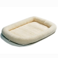 Midwest Quiet Time Pet Bed - Synthetic Sheepskin - Model #40248