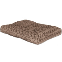 Midwest #40642STB Quiet Time Ombre Swirl Bed 39X26 Mocha Fur