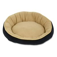 "Petmate 18"" Round Bed Elliptical Bolster"
