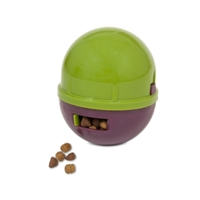 Aspen Pet WOBBLING TREATBALL GREEN/PURPLE
