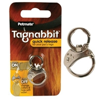 Petmate Tagnabbit Quick Release Pet Tag Ring