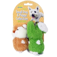 Aspen Pet Booda Puppy & Small Dog Two Pack Terry  Elephant/Chipmunk