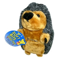 Aspen Pet Booda Large Hedgehog Soft Bite Toy
