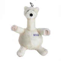 Aspen Pet Bellies Polar Bear Dog Toy X Large Plush