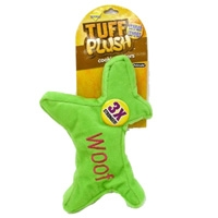 Aspen Pet Tuff Plush Cookie Cutter - Large Woof