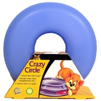 Aspen Pet Crazy Circle Small Light Blue