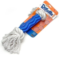 Aspen Pet Dogzilla Rope Bone - Swirl Small
