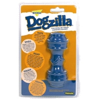 Aspen Pet Dogzilla Rubber Toy Dumbell Large