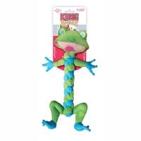 Kong Medium BraidZ Frog