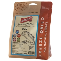 Bravo!  Freeze Dried Cod - 2 oz.