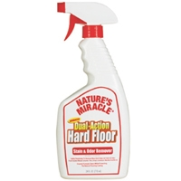 Nature's Miracle Advanced Dual Action Hard Floor Stain/Odor Remover 24 oz