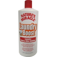 Nature's Miracle Stain/Odor Laundry Boost Additive 32 oz