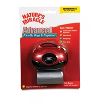 Nature's Miracle, Advanced Pick Up Bags & Oval Red Dispenser